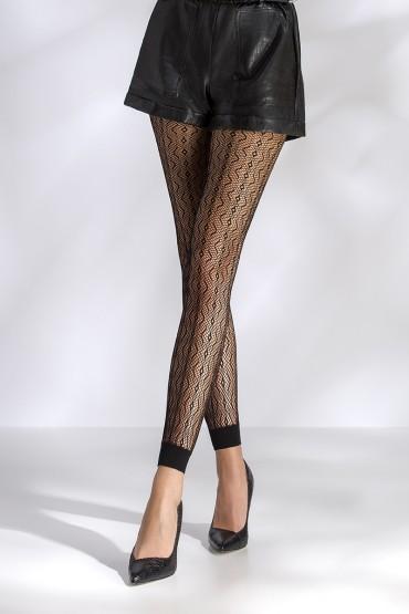 Leggings résille TI050 - noir