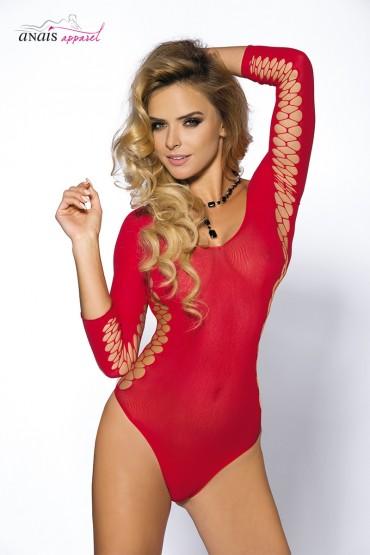 Body sexy rouge Muriel - Anaïs
