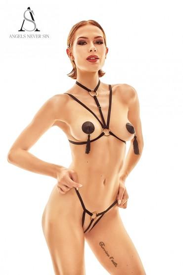 Harnais lingerie Delici -...