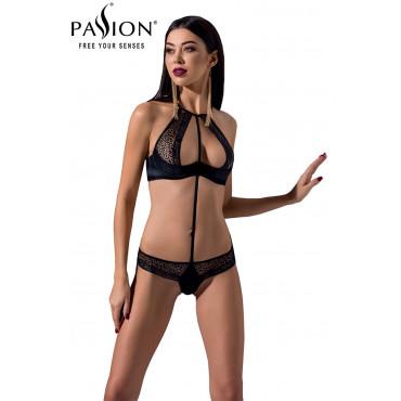 Ensemble Scarlet Bikini noir - Passion