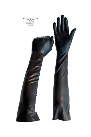 Gants longs BDSM en latex
